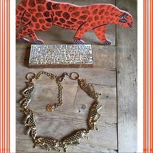 Vintage jaguar 🐆 belt